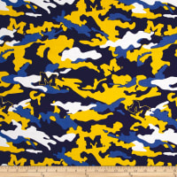 NCAA University of Michigan Camouflage Multi