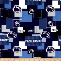 NCAA Penn State Blocks Allover Blue