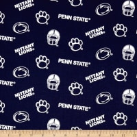 NCAA Penn State Tossed Logos Blue