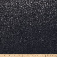 Fabricut Saratoga Faux Leather Midnight