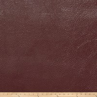 Fabricut Saratoga Faux Leather Burgundy