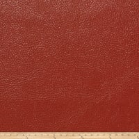 Fabricut Saratoga Faux Leather Paprika