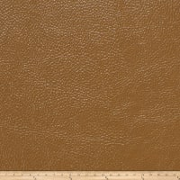 Fabricut Saratoga Faux Leather Caramel
