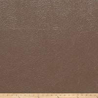 Fabricut Saratoga Faux Leather Mocha