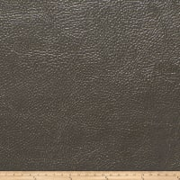 Fabricut Saratoga Faux Leather Truffle