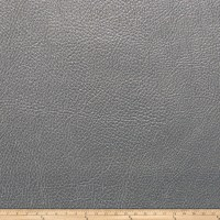 Fabricut Saratoga Faux Leather Pewter