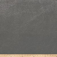 Fabricut Saratoga Faux Leather Grey