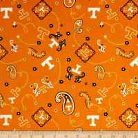 NCAA University of Tennessee Bandana Prints Orange