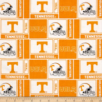 NCAA University of Tennessee Herringbone Box Orange