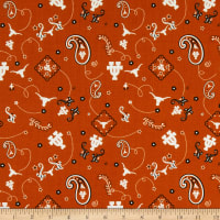 NCAA University of Texas Bandana Prints Orange