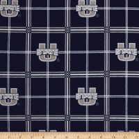 NCAA Utah State University Flannel Plaid Blue/Grey