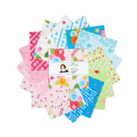 "Riley Blake Simply Happy 5"" Stackers 42 Pcs. Multi"