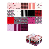 Riley Blake Kiss Me Kate Fat Quarter Bundle 18 Pcs Multi