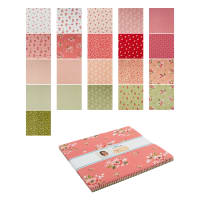 "Riley Blake Summer Blush 10"" Stackers 42 Pcs Multi"