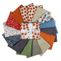 Riley Blake Varsity Basketball Fat Quarter Bundle 15 Pcs Multi