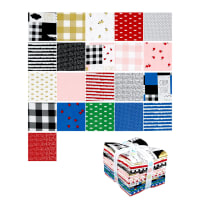 Riley Blake Let Them Be Little Fat Quarter Bundle 21 Pcs Multi