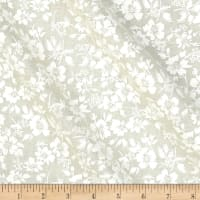 Classic Tone on Tone Hawaiian Floral White/Tan