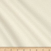 "Collection #12 108"" Wide Back Sprig White/Natural"