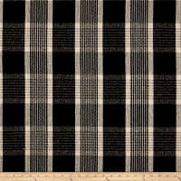 Stof France Pontarlier Basketweave Noir