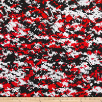 Urban Camouflage White/Red/Black