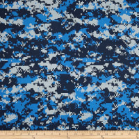 Urban Camouflage Navy/Grey/Blue