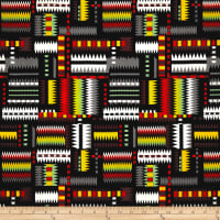 Navajo Multi Bright Red/Multi