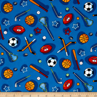 Kid's Choice Sports Allover Blue Multi