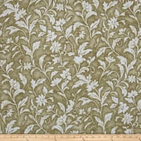 Santee Print Works Vintage Tapestry Floral Brown