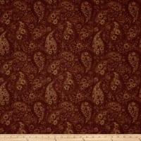 "108"" Wide Back Paisley Copper"