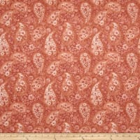 "108"" Wide Back Paisley Peach"