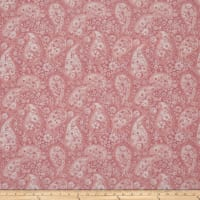 "108"" Wide Back Paisley Pink"