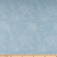 "108"" Wide Back Branches Blender Light Blue"