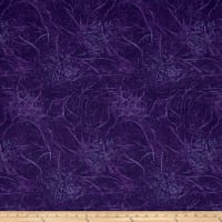 "108"" Wide Back Branches Blenders Eggplant"