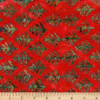 Island Batik Alpine Jingle Cherry
