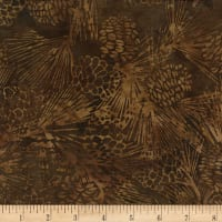 Island Batik Northern Woods Chestnut