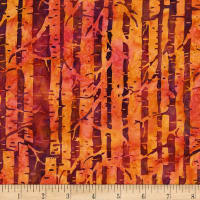Island Batik Plum Delicious Tree Branches Mixed Berry