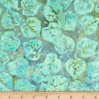 Island Batik Seasons Shades Leaves Opal