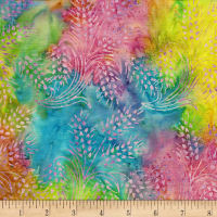 Island Batik Morning Sunshine Foliage Tiedye