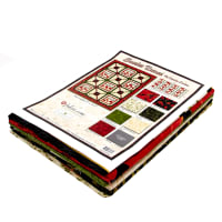 "Wilmington Scarlet Dance Kit - Exclusive Throw Quilt - 57"" x 73.5"""