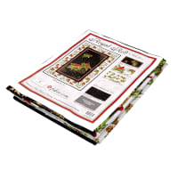 """Wilmington Royal Red Kit - Exclusive Wall Quilt - 38"""" x 57"""""""