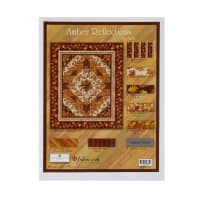 "Wilmington Amber Reflections Kit - Throw Quilt - 64"" x 76"""