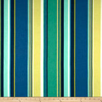 Richloom Westport Exclusive Stripes Basketweave Turquoise