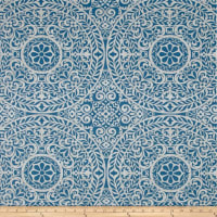 Richloom Tienchi Exclusive Medallions Basketweave Blue