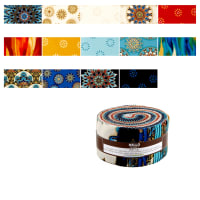 "Kaufman Terracina 2.5"" Roll Up 40 Pcs Jewel"
