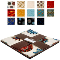 "Kaufman Terracina 10"" Squares 42 Pcs Jewel"