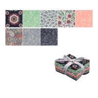 Kaufman Delphine Fat Quarter Bundle 8 Pcs Blush
