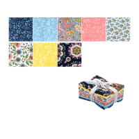 Kaufman Delphine Fat Quarter Bundle 8 Pcs Spring