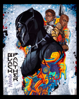 "Springs Creative Black Panther 36"" Panel Multi"