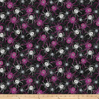 Elegantly Frightful Spider Black