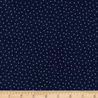 Fa La La! Mini Dots Navy